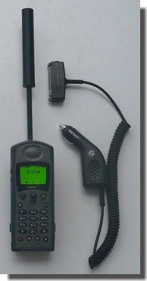 motorola iridium phone location amateur