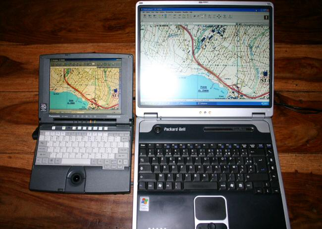 carte gps ordinateur portable